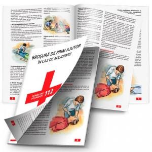 Brosura de prim ajutor in caz de accident (capsata