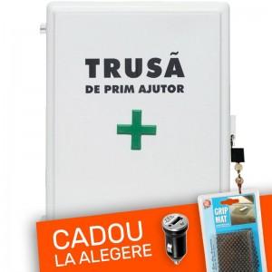 Trusa sanitara prim ajutor cu sistem de inchidere cu lacat + Cadou
