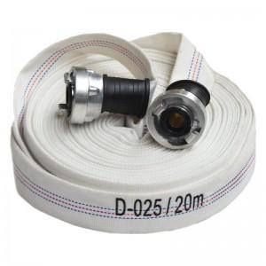 Furtun PSI tip D (1 tol) echipat cu racorduri - 10 bar