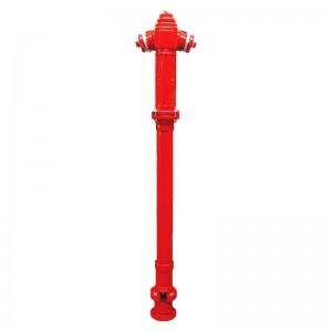 Hidrant suprateran 2B cu protectie la rupere