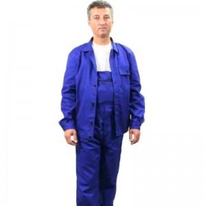 Pantalon de lucru cu pieptar unisex