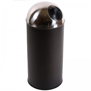 Cos gunoi PUSH (corp negru)