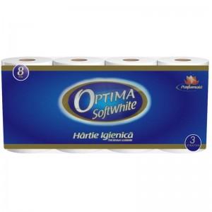 Hartie igienica Sano Paper Optima 3 Straturi (10 role)