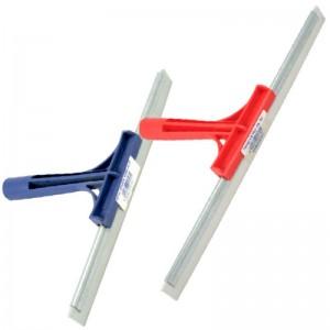 Racleta metalica cu cauciuc pentru geam (1 buc)