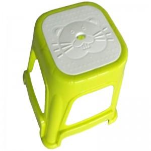 Taburet mic plastic (copii) - model 2
