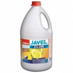 Clor Sano Javel - detergent imbunatatit cu clor (4L)