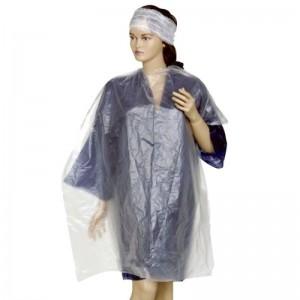 Pelerina cosmetica HDPE transparenta 1x1