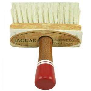 Pamatuf pentru frizerie cu maner din lemn (1 buc.)