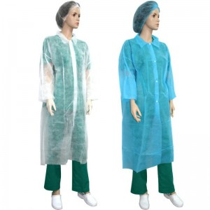 Halat protectie tip laborator PPSB alb